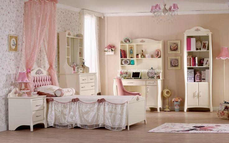 Παιδικό Δωμάτιο Prestij (MDF-ΛΑΚΑ)