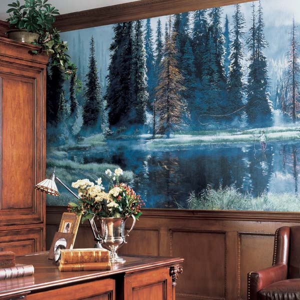 Best 347 Landscapes images on Pinterest Mural art Mural wall art