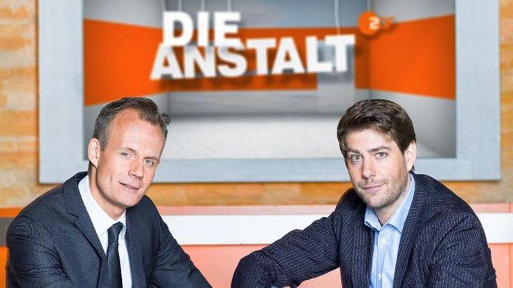 """Max Uthoff und Claus von Wagner in """"Die Anstalt"""""""