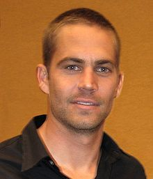 Paul William Walker IV (September 12, 1973 – November 30, 2013) - one of my favorite actors has passed away today. I am so sad. R.I.P.
