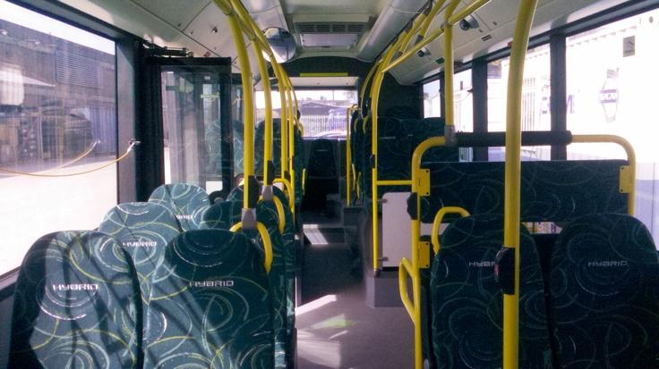 Volvo 7700 Hibrid Bus...por dentro.