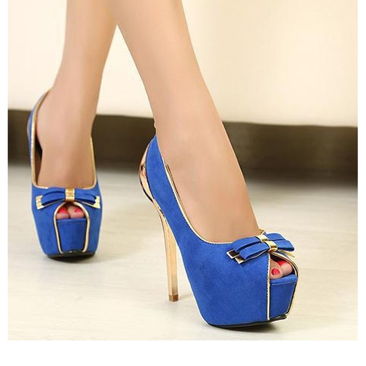 (42.31$)  Watch here - http://aiyse.worlditems.win/all/product.php?id=32789133480 - High Quality Suede Leather Bowtie Women Pumps Sexy High Heels Spring Autumn Shoes Spoon Heel Peep Toes Ladies Pumps 826-1