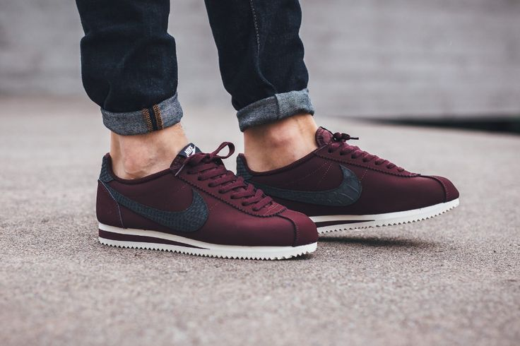 "Nike Cortez Leather SE "" Night Maroon/Sail"".   Add to Flipboard Magazine.   October 13, 2016 by Nike Only Shop™    ..."