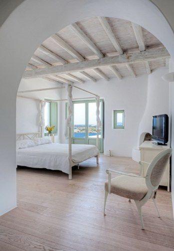 Pin von claudia mac auf bedroom pinterest mediterran for Griechische wohnideen