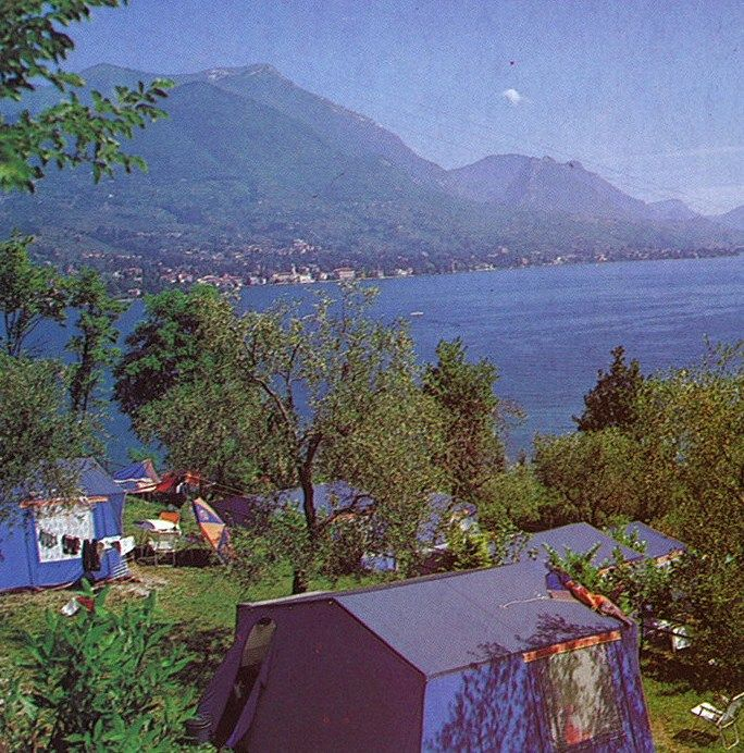 The view from Camping Eden in Lake Garda is as spectacular today as it was in 1978. More details: http://www.canvasholidays.co.uk/italy/lake-garda/ga02a/camping-eden #Canvas50