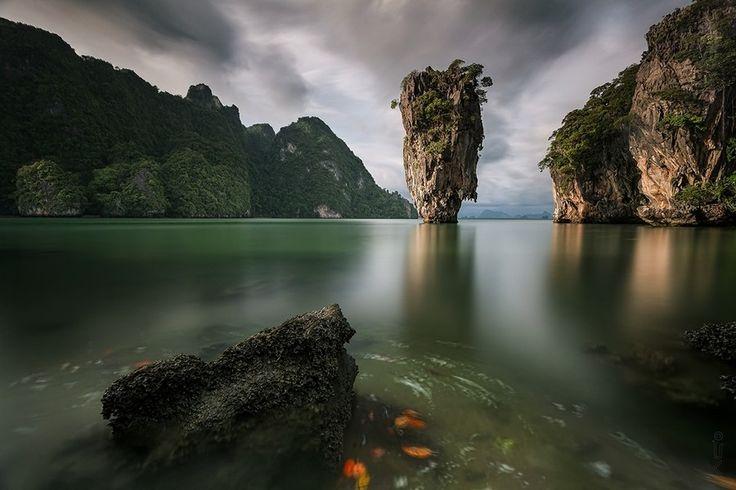 James Bond Island (No kidding), Thailand as captured by Sebleu