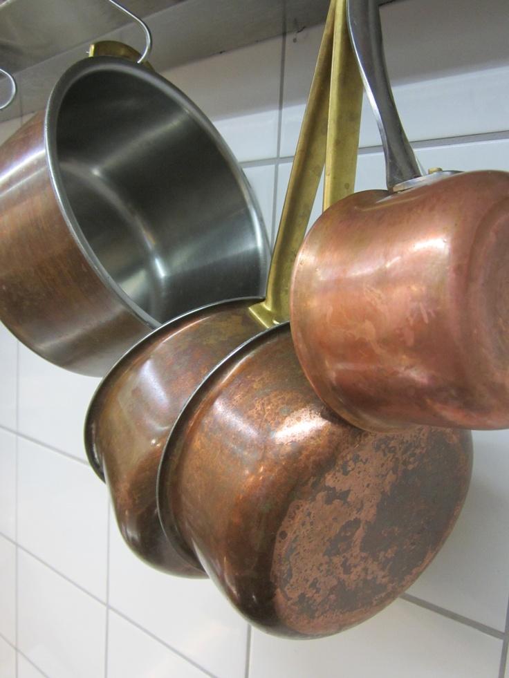 Pots and pans @Restaurant CLOU