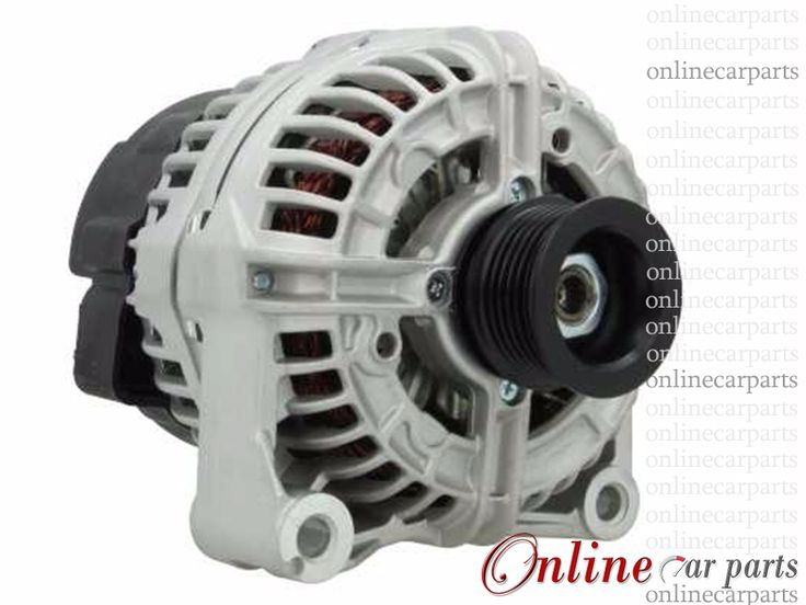 BMW E39 523i 96-00 M52B25 120A 12V 6 Groove IR/IF Alternator OE A14VI22 12311432980 SG12B029