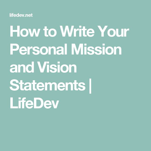 how to write a mission and vision statement Write powerful mission and vision statements by judy rushfeldt last year, i attended a seminar where the attendees were asked to define their personal mission or purpose in one sentence.
