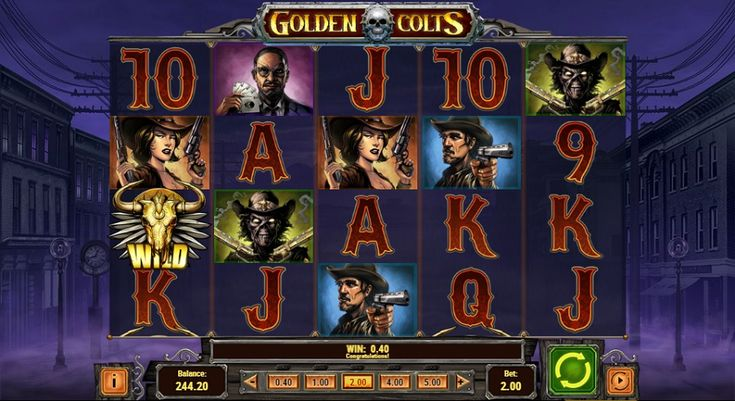 Play slot machine Golden Colts now! Don't hesitate to try out many more of the most favorite online casino games. #slotmachine #GoldenColts