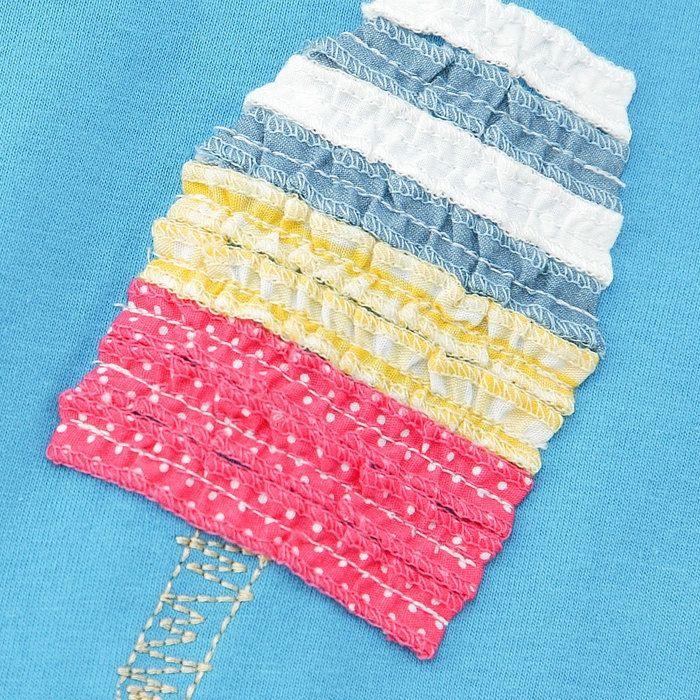 Biquette (ビケット ) 半袖Tシャツ (80~130cm) 女の子 初夏物 80 90 95 100 110 120 130 キムラタンの子供服