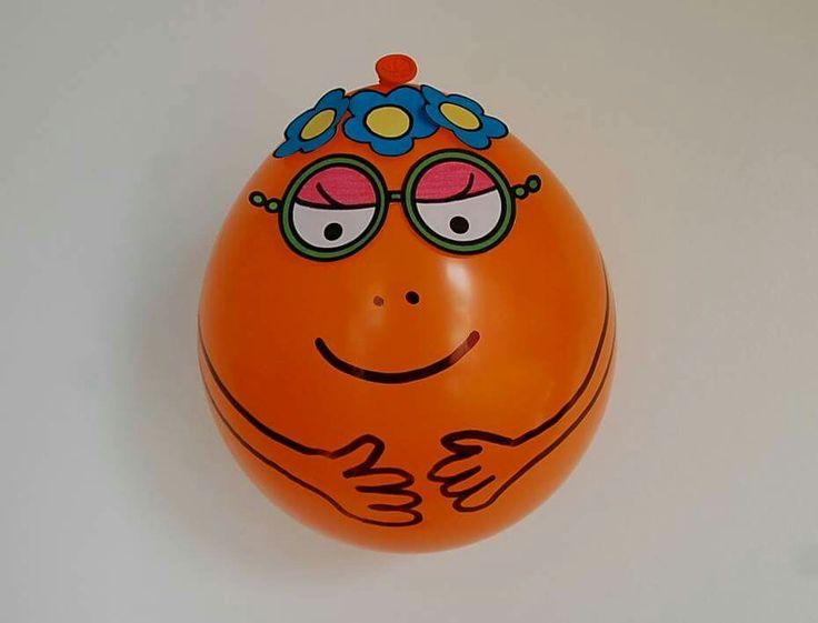 ballon de baudruche Barbapapa Barbotine