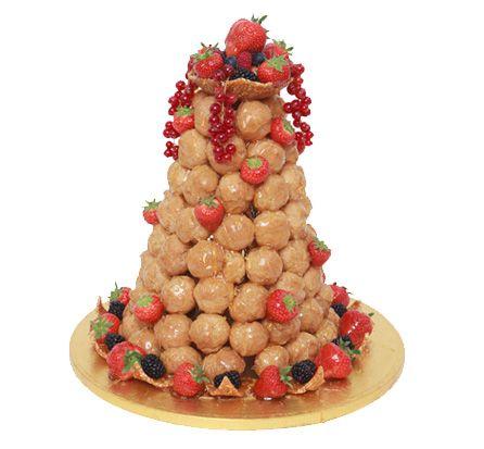 Patisserie Valerie - Wedding Cakes - Croque-en-bouche