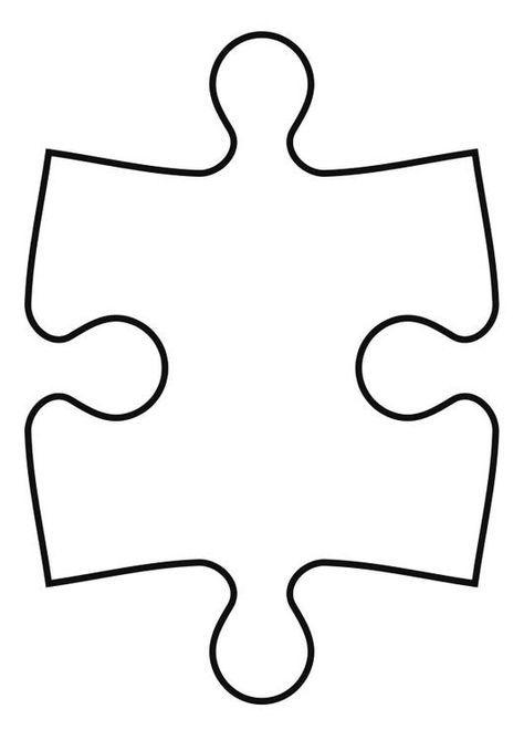 Coloring page puzzle piece - img 27119. (mit Bildern ...