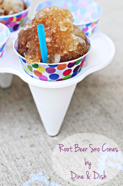 Homemade Root Beer Sno-Cones · Edible Crafts | CraftGossip.com