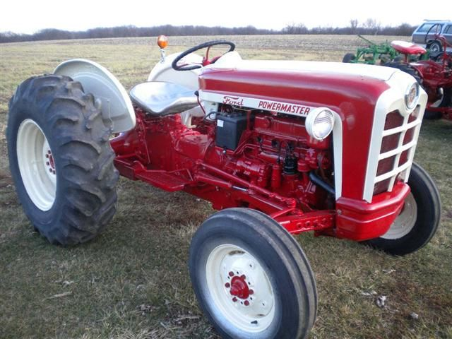 1959 Ford 861Tractor, not only do I like this...you might call it love!