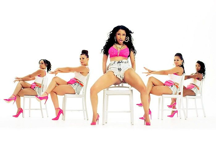 Nicki Minaj's 'Anaconda' Video via @WhoWhatWear