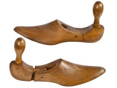 Vintage European Wood Shoe Stretchers Size 32