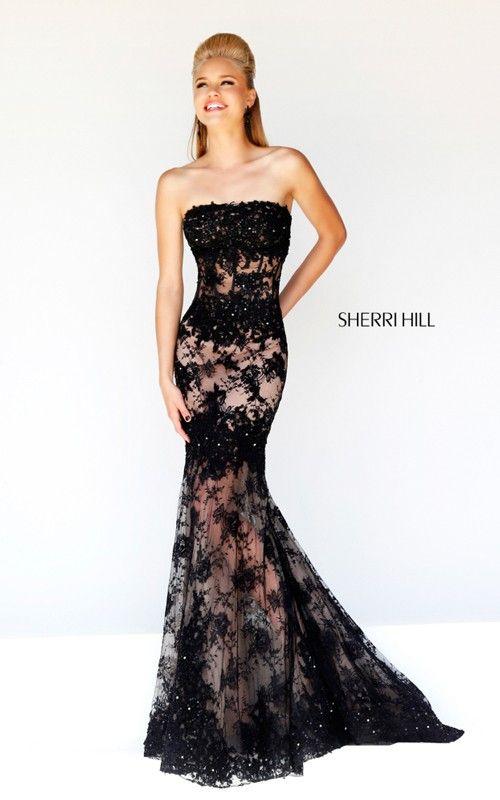 31 best Sherri Hill images on Pinterest | Schwarze ...