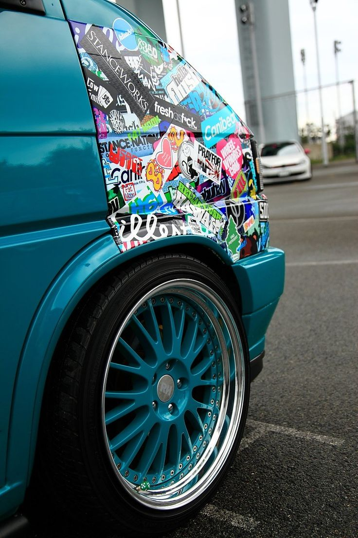 Design your own car sticker uk - Sticker Bomb Front Wing