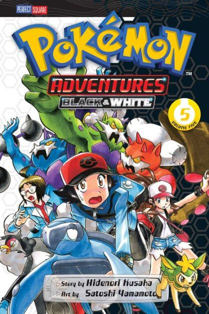 All your favorite Pokémon game characters jump out of the screen into the pages of this action-packed manga!White tests out a Pokémon battleground...