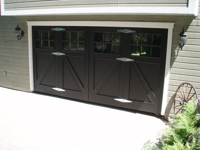 garage door ideas for back of the house - Curb Appeal a collection of ideas to try about Other