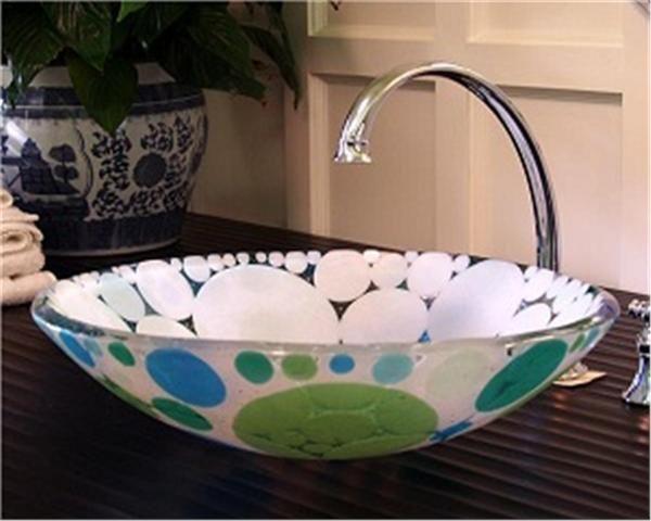 Glass Vessel Sinks | Vessel Glass Sink | Vessels Sinks | Bathroom Sink