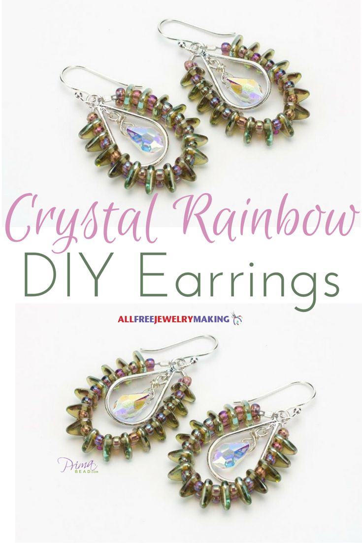 73 best diy crystal jewelry images on pinterest | jewelry ideas