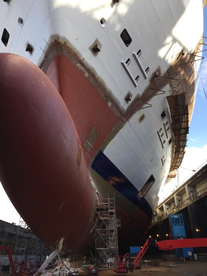 Harmony Keel Blocks are in the House    Page 25   Cruise Critic Message  Board Forums. 25 best Harmony of the Seas Construction Updates images on