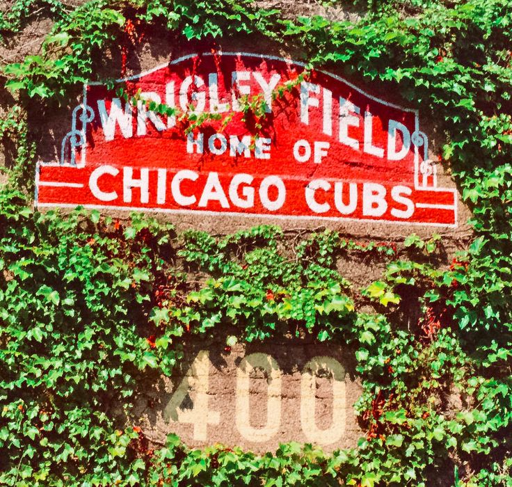 Wrigley Field.  One of the best parks I've been to.  Loved every second of it, especially because the Braves beat the Cubbies!  Aug 2011