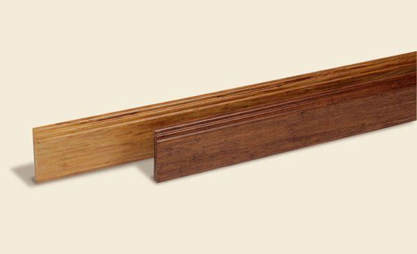 Bambusparkett Fussleisten (Zum Vergrößern bitte Bild anklicken)