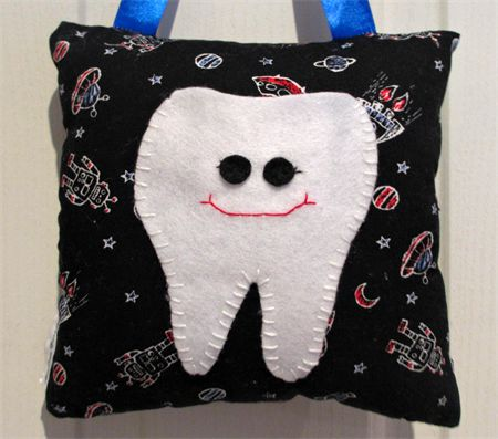 Space tooth fairy pillow madeit.com.au/moobearcreations