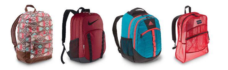 We've got over 140 backpacks all for under $40!