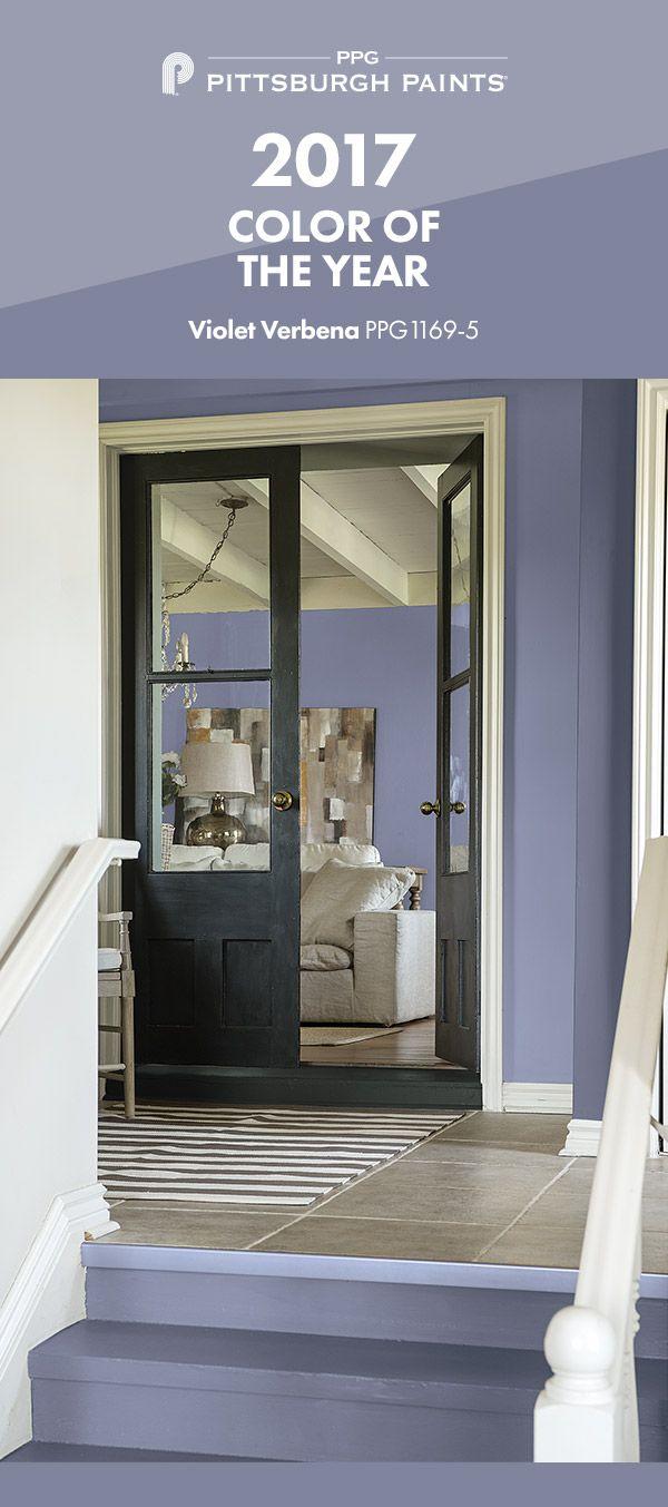 15 best 2017 paint color of the year violet verbena images on pinterest color palettes. Black Bedroom Furniture Sets. Home Design Ideas