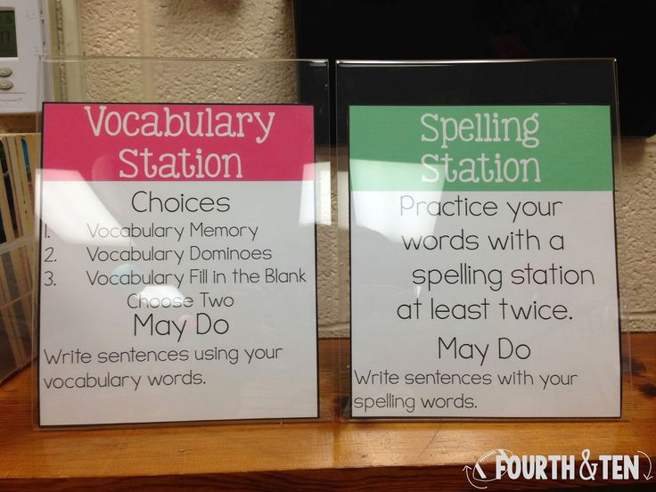Daily Five/Workstations for bigger kids! Lots of ideas from a fourth grade classroom! :)