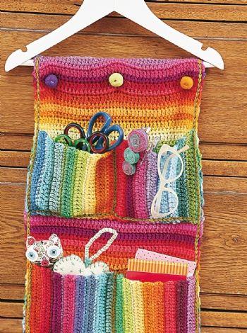 Porta objetos - Accesorios Crochet