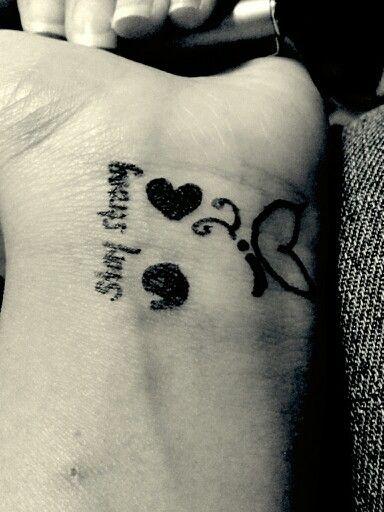 84 best tattoo images on pinterest tattoo ideas tatoos for Semicolon tattoo price