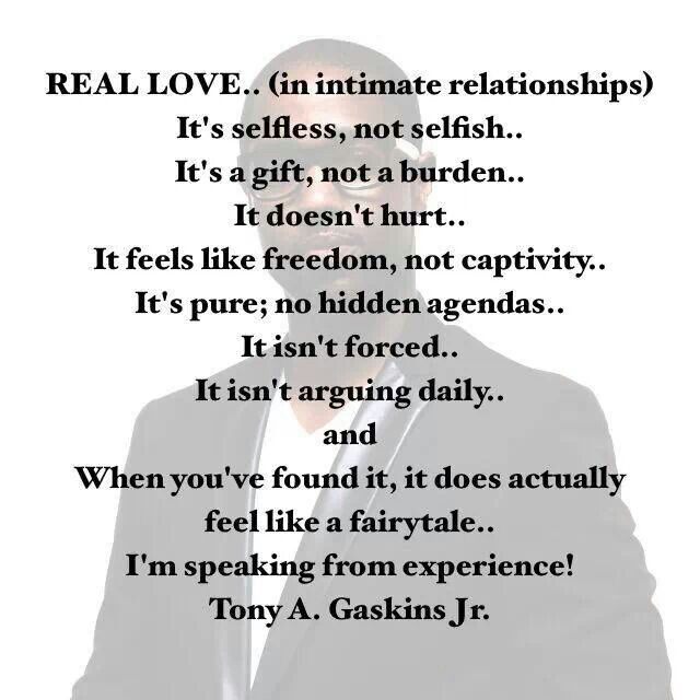 Short Sweet I Love You Quotes: 17 Best Images About Tony A Gaskins Jr Quotes On Pinterest