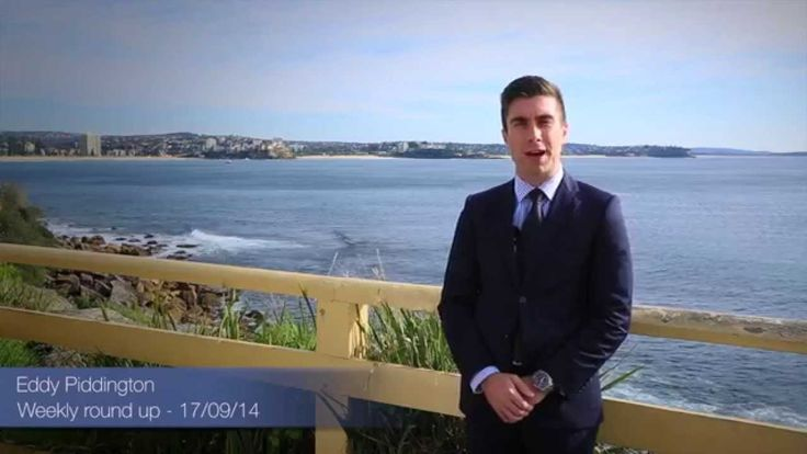 Manly property weekly round up with Eddy Piddington - 17/09/14 - Call 04...