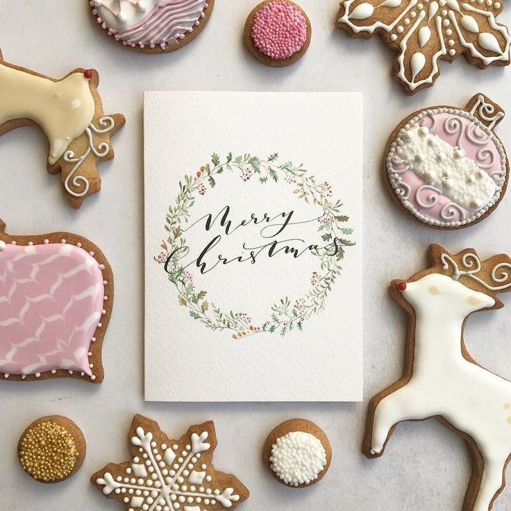 Christmas calligraphy @hartsbakery tomorrow cant wait!