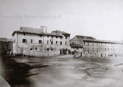 Piazza dell'Esquilino Albergo omonimo 1884