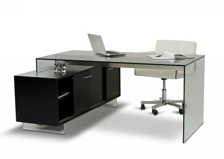 Contemporary Office Desk With Drawers