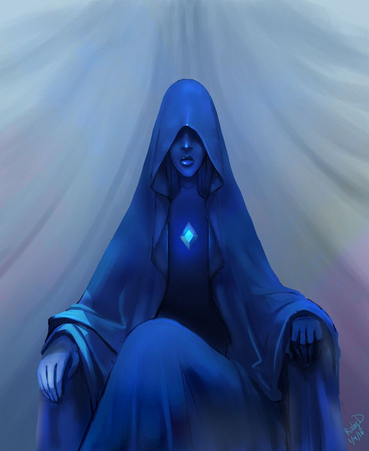 Tumblr Time:2 hours on Photoshop I really like how Blue Diamond looked in the latest Steven Universe episodes.