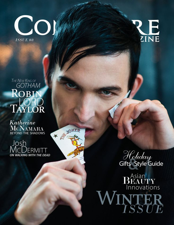 Robin Lord Taylor   You may not know much about Robin Lord Taylor. And you wouldn't beContinue reading