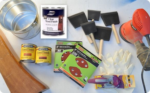 Centsational Girl » Blog Archive How to Restain A Wood Table Top » Centsational Girl