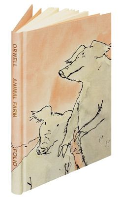 Folio Edition of George Orwell's Animal Farm: 'All animals are equal, but some animals are more equal than others.'