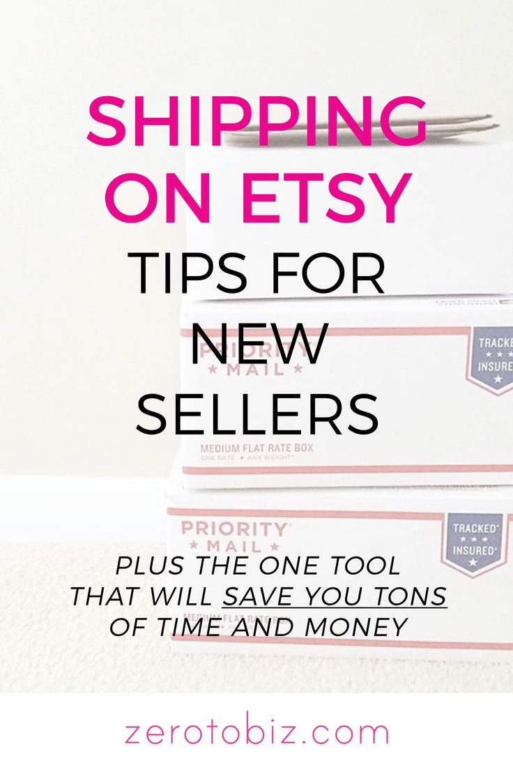 Thoughts of shipping keeping you from starting an Etsy shop? Check out my best tips for all things mailing!