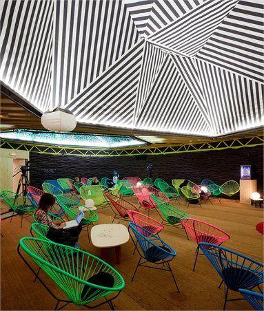 Red Bull Music Academy - Nave 15 Matadero Madrid - Madrid, Spain - 2011 - Langrita-navarro arquitectos #architecture #music