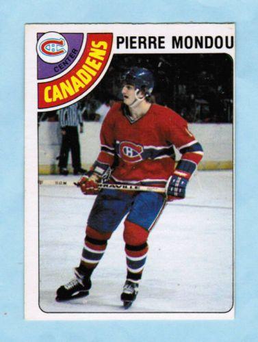 1978-79-OPC-102-Pierre-Mondou-Montreal-Canadiens-Rookie-Card