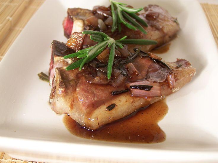 Balsamic Lamb Chops @ http://allrecipes.com.au